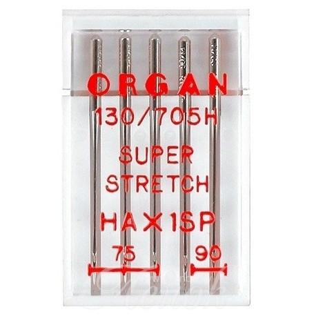 ORGAN иглы супер-стрейч №75-90