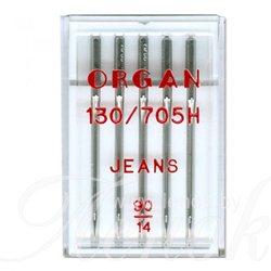 ORGAN JEANS иглы для джинса  №90