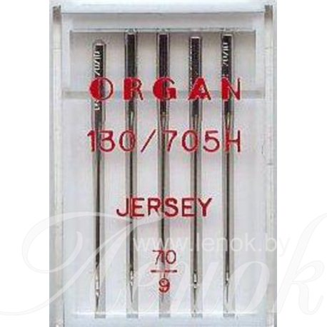 ORGAN JERSEY иглы для трикотажа №70